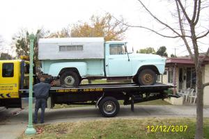 1958 International Harvester A120 Long Bed 4X4 Family Owned Since New