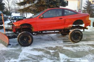 Scout Plow Truck with Chevy Cavalier Body
