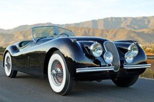 1954 Jaguar XK120 SE OTS: Gorgeous, Mechanically Strong, Factory SE Roadster