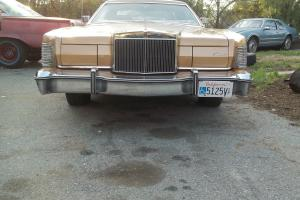 1975 lincoln mark iv 35k miles gold luxury group