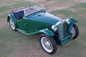 1949 MG TC - Gorgeous, Numbers Matching and Mechanically Sound TC Roadster