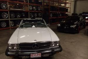 1987 Mercedes Benz 560SL 73k White/Grey RUST FREE ARIZONA CAR MUST SEE!!