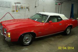 1971 MERCURY COUGER XR 7 CONVERTIBLE Photo