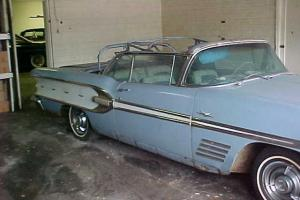 1958 Pontiac Bonneville Convertible (Highly Optioned, 100% complete,  rust free)