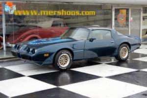 1979 Pontiac Trans AM 4 Speed Original Miles