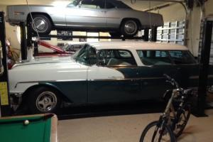 1956 Pontiac Safari 2 door wagon  MINT CONDITION Same as Chevy Nomad