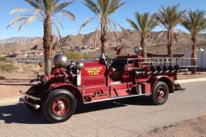 """1924 Ahrens Fox Fire Truck  """"The Rolls Royce of Fire Trucks"""""""