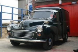 Morris 1000 van, very good condition, fully rebuilt, extremely solid.