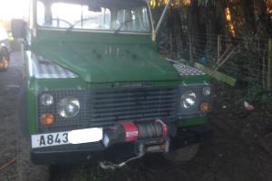 Land rover 110 truck 4.2 turbo diesel toyota land cruiser engine auto gearbox