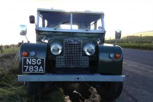 Land Rover Series 1 1956 / 1957 88 inch with 2286 diesel