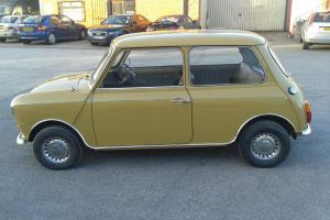1974 Classic Mini 1000 1 owner 30000 miles only