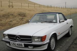 1987 Mercedes 300 SL - R107 - Immac Condition - FMBSH - Hard/Soft Top