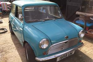 1962 austin seven mini including spare parts and panels