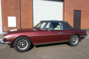 Triumph Stag, 3.5 rover v8 with 5 speed Manual box, Great investment.