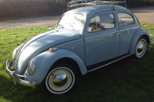 Classic 1966 VW Beetle 1300 Deluxe