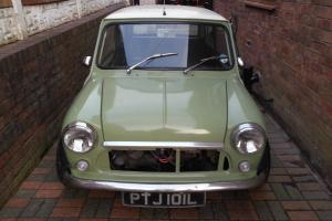 classic mini 1972 tax exempt, 1275gt with upgraded 1410 engine,