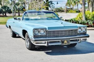 Mint original just 40,763 1 owner miles 75 Buick LeSabre Convertible magnificent
