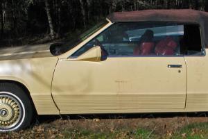 1980 Pierre Cardin Cadillac Eldorado CONVERTIBLE OOAK Beautiful!!!!!!!!!!!!