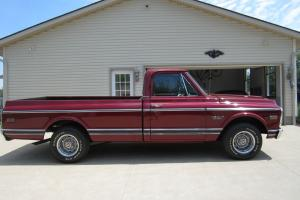 1970 Chevy Cst C10 Long Bed Pick Up Fire Mist Red