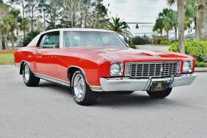 Beautiful 1972 Chevrolet Monte Carlo loaded just 51,905 miles cold a/c must see