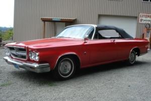 1964 CHRYSLER 300K CONVERTIBLE..
