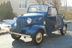 Rare Antique/vintage 1939 Crosley coupe convertible 1st year/ includes trailer!!
