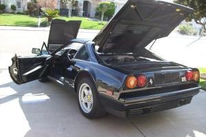 1986 328 GTS FERRARI BLACK ON BLACK 3.2L V8