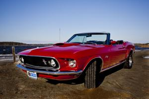 1969 Mustang Convertible w/ AC Survivor Desert Car Excellent Condition