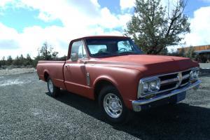 1967 GMC 2500 fleetside SAVED FROM FIELD!!!!!