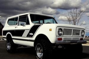 1973 International Scout II 4x4. Rallye package