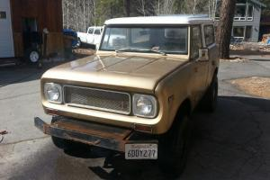 1971 International Scout **RARE** LOW Rsrv (lk Bronco jeep cj fj40 land cruiser)