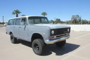 Clean Rust Free 1975 International Survivor, Dana 44 Many newer parts No Reserve