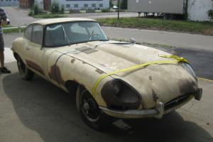 Jaguar E-Type Project Car