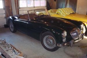 1960 MGA Green with MGB Motor & overdrive