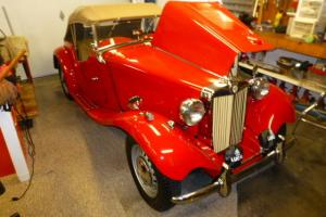 1952 MG TD series Complete restoration. From the ground up. Nice.