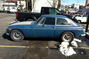 1972 MGB GT With Overdrive Transmission