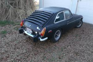 1974 MGB GT Chrome Bumper