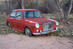 MG 1100 2 Door for Restoration or Parts Austin Morris Mini Barn Find
