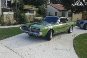 USED GREEN 1967 MERCURY: COUGAR XR7 NEW 351 WINDSOR ENGINE NEW TIRES AND RIMS Photo