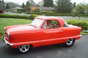"""MONSTER"" Nash Metropolitan Red Hot Rod / Street Rod"