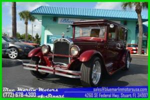 Olds 30E Hot Rod 350 V8 AC Leather Shaved doors power steering power brakes NICE