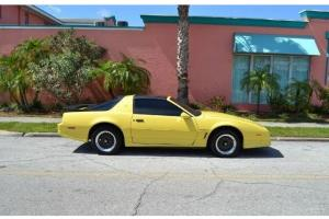 1986 TRANS AM WS6 TUNED PORT INJECTION T-TOPS YELLOW GOLD EXTERIOR !!!