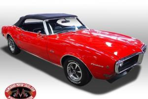 68 Pontiac Firebird Convertible Gorgeous Restored WOW