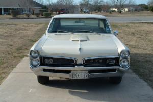 1967 Pontiac GTO, Original, PHS Documented