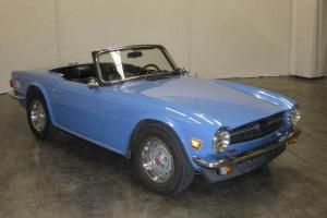 1975 TRIUMPH TR6 ROADSTER WITH FACTORY HARDTOP Photo