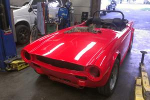 1972 Triumph TR6 With overdrive NEVER HAD RUST. Photo