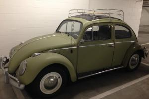1960 VW Beetle | Ragtop in excellent condition.