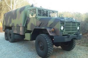 1986 military 6x6 truck machine shop bug out camper conversion 5 ton m944a1 rare