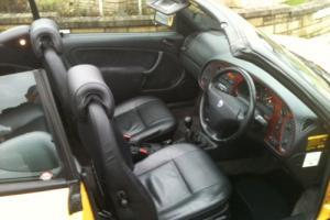 1997 Saab 900 Sports Convertible 2.3