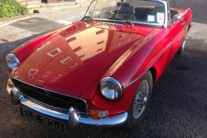 MGB 1970 Tartan Red – Tax Except